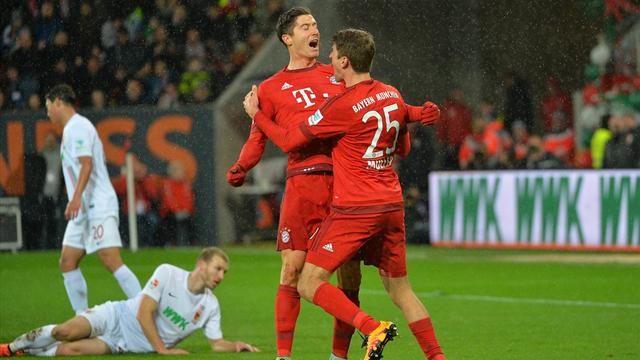 Lewandowski redouble et le Bayern gagne