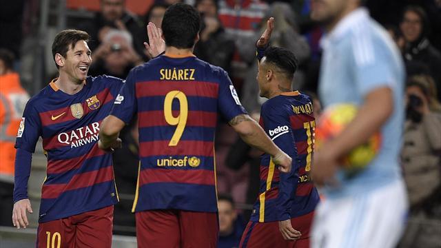 Quand la MSN régale, le Barça s'éclate