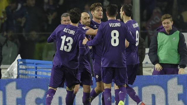 Sur le fil, la Fiorentina enfonce encore un peu plus l'Inter