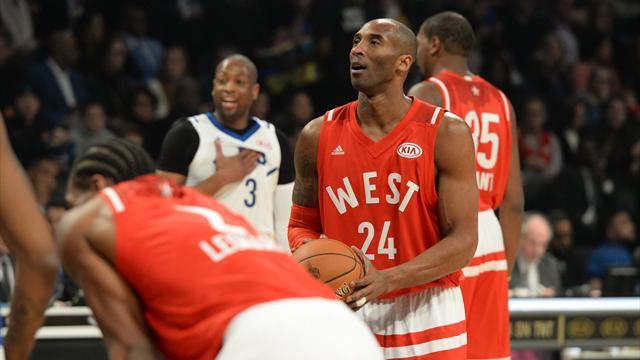Bryant honoré, l'Ouest vainqueur d'une parodie de basket : ce qu'il faut retenir de la nuit