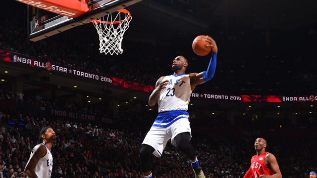 James et ses amis enchaînent les dunks ! Le Top 10 du All-Star Game