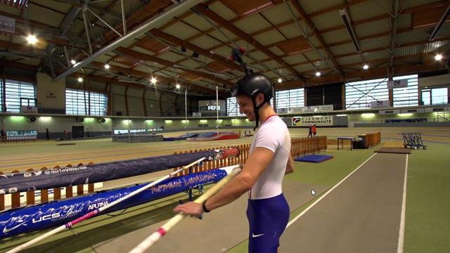 Notre vidéo à 360° : sautez à la perche comme si vous étiez Renaud Lavillenie