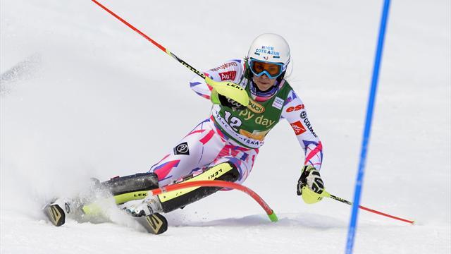 Noens s'offre son premier podium de l'hiver derrière la revenante Shiffrin