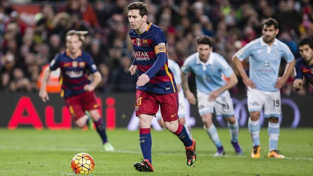 Из-за розыгрыша 11-метрового «Барселона» не реализовала больше всех пенальти в этом сезоне