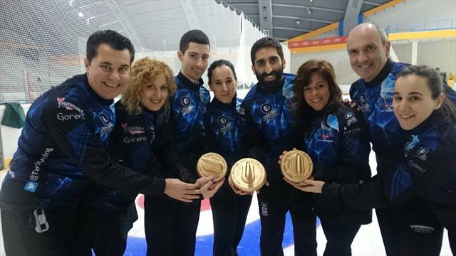 Premios a los mejores jugadores del curling español