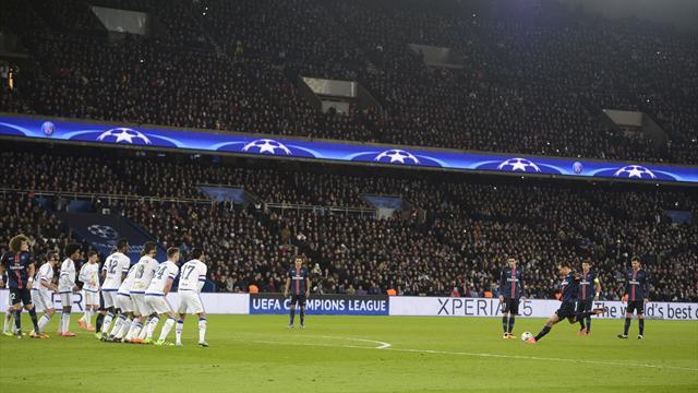Zlatan et Cavani, héros parisiens du soir : les deux buts en vidéo