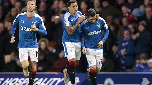 Nicky Clark nets stoppage-time winner as Rangers book place in last eight