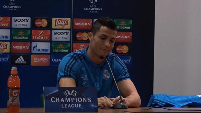 Cristiano Ronaldo s'énerve contre un journaliste et quitte la conférence de presse