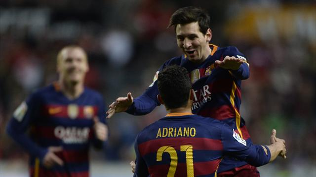 Ce but est historique : c'est le 300e de Messi en Liga