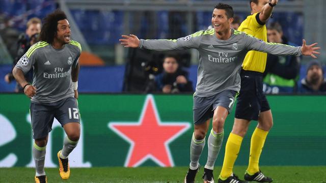 D'un superbe enchaînement, Ronaldo a forcé le verrou romain : son but en vidéo