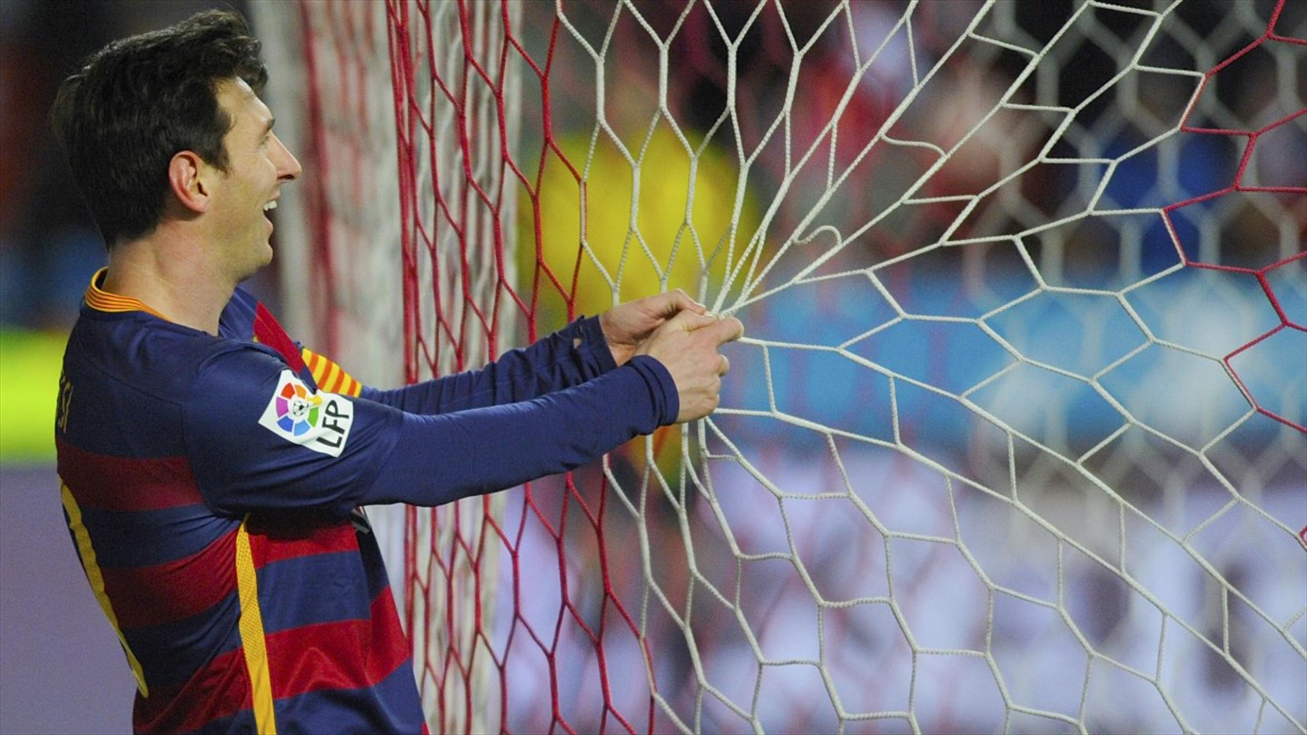 Video: Lionel Messi create history with his 300th La Liga goal for Barcelona