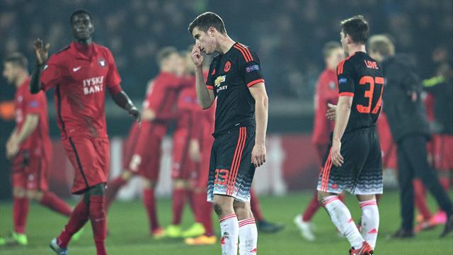 Man U et le Napoli tombent, Dortmund et Séville assurent, Valence passe ses nerfs sur le Rapid