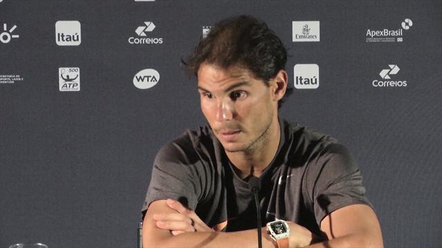 """Nadal : """"Je vais mieux physiquement"""""""