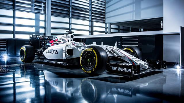 La Williams FW38 en pole position des présentations