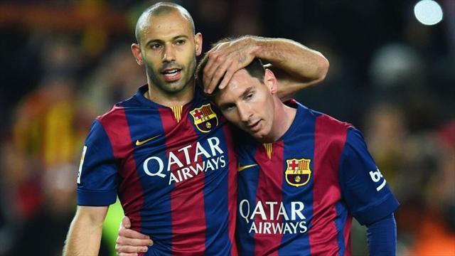 Messi : «Je comprends que Mascherano s'en aille»