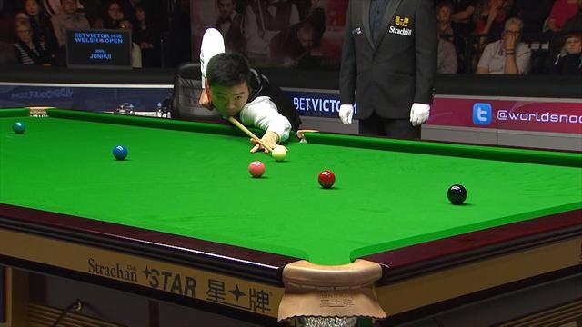 Ding Junhui makes brilliant 147 at Welsh Open