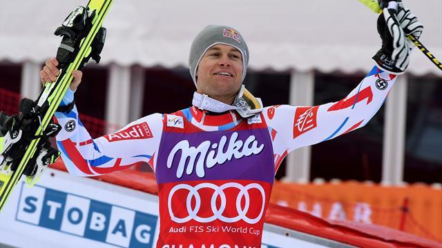 La victoire et le globe pour Pinturault, deux Français sur le podium... C'est la fête à Chamonix !