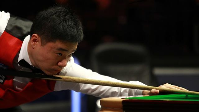 Ding overcomes Bingham to reach last four
