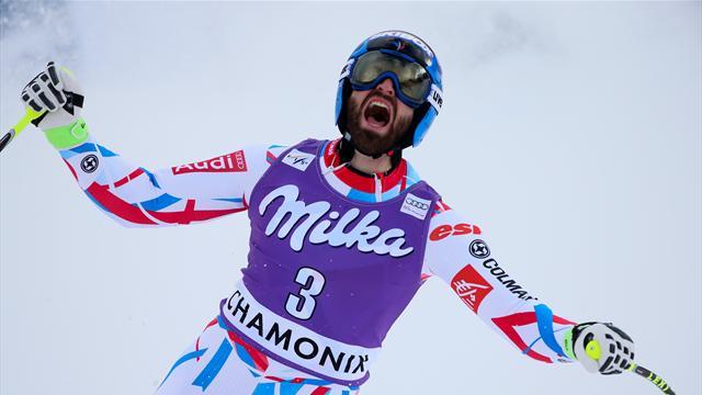Une descente presque parfaite et Mermillod-Blondin prend la 3e place à Chamonix