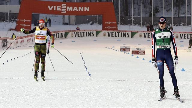 Frenzel breaks German curse in Schonach as Krog disqualified