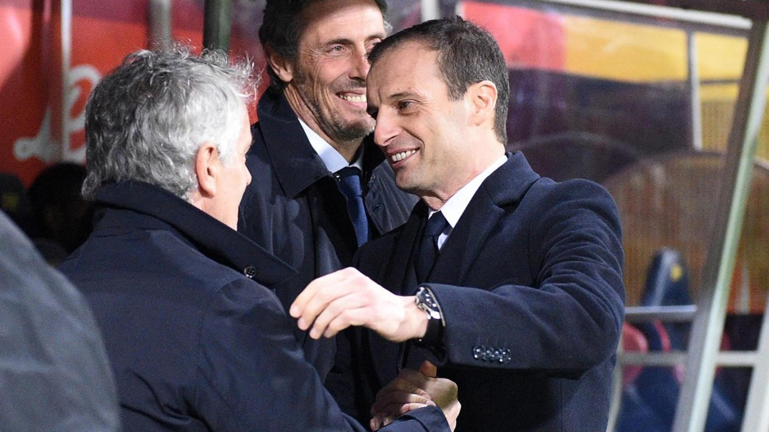 Roberto Donadoni e Massimiliano Allegri, Bologna-Juventus