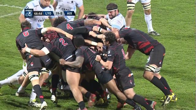 Le résumé de Lyon - Provence Rugby en vidéo