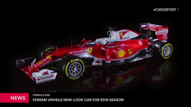 La Ferrari svela la nuova livrea per la stagione 2016