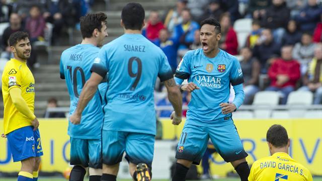 Le Barça s'est fait bouger, mais il poursuit sa marche vers le titre