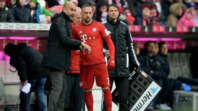 Guardiola et Rummenigge ravis du retour de Franck Ribéry
