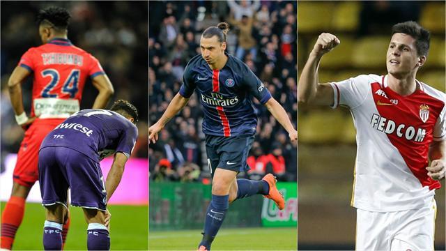 Ibrahimovic, déluge de buts et angoisse dans la zone rouge : les tops et les flops de samedi