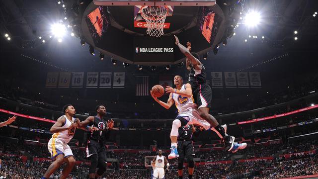 Les Warriors se vengent sur les Clippers, les Knicks stoppent l'hémorragie