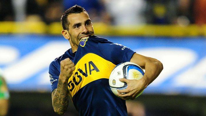 Carlos Tevez Boca