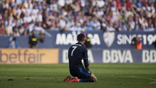 Le Real accroché à Malaga, et désormais décroché à 9 points du Barça