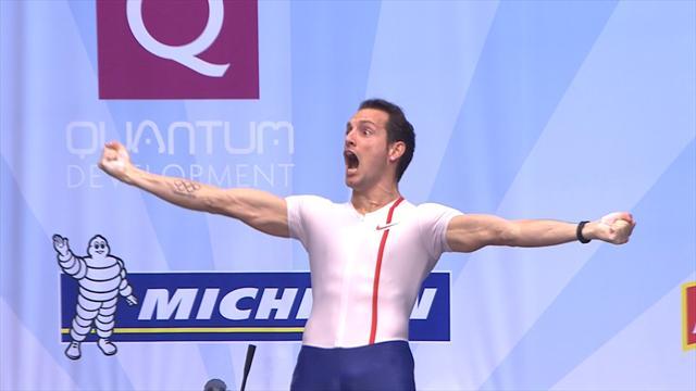 De 5,70m à 6,02m, le concours parfait de Renaud Lavillenie au All Star Perche