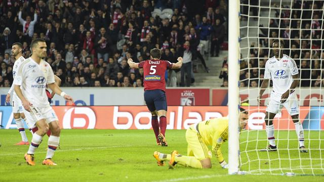 Pas de podium, Jallet et Grenier expulsés : Lyon a passé une sale soirée à Lille