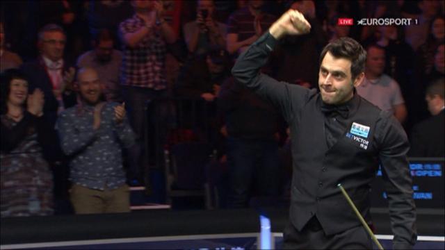 Невозможный шар от Ронни и клиренс, которым он обеспечил победу на Welsh Open