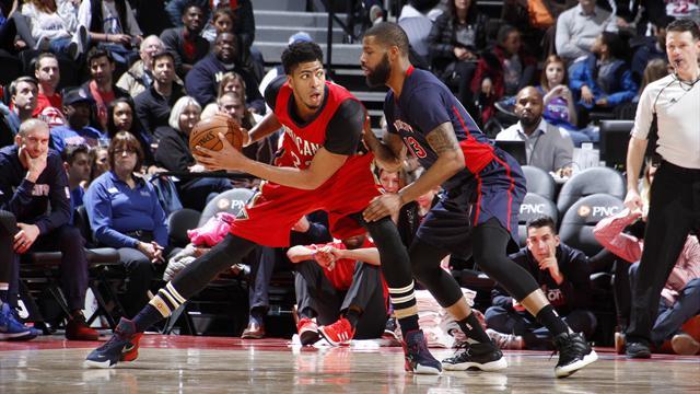 Игрок «Нового Орлеана» набрал 59+20 и установил рекорд сезона в НБА