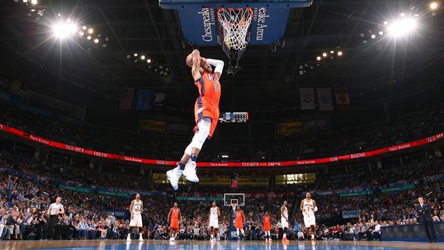 Westbrook est inarrêtable ! Le Top 10 de la nuit