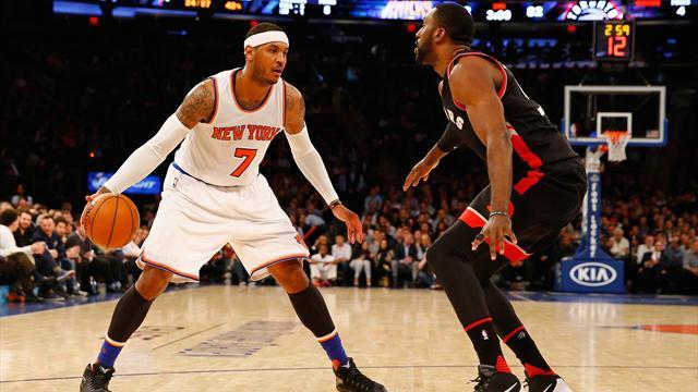 Au Garden, une autre soirée (et saison) à oublier pour les New York Knicks de Carmelo Anthony