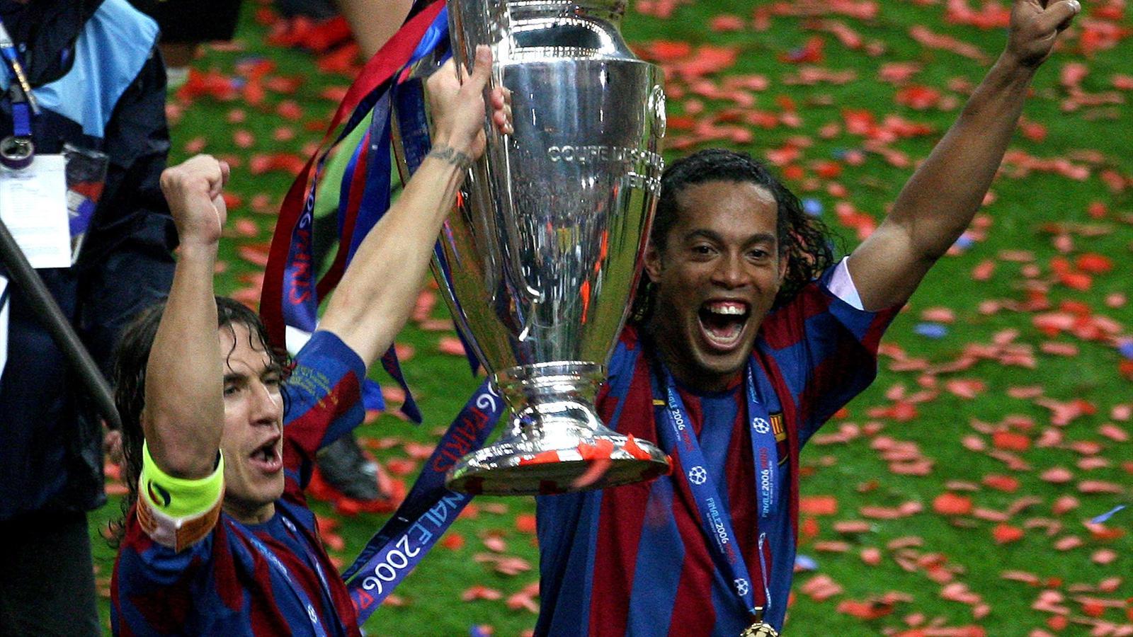 Former brazil star ronaldinho returns to barcelona as club - University league tables french ...