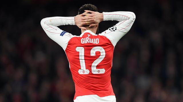Giroud, le coup de la panne au pire moment de la saison
