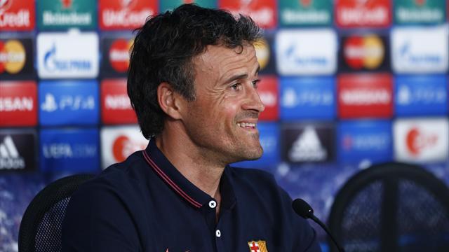 Pour Luis Enrique, la Liga est loin d'être gagnée