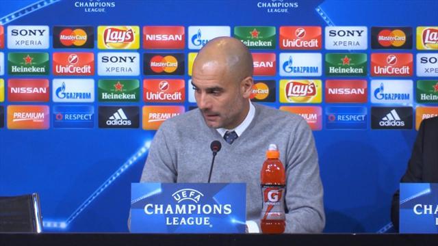 """Guardiola : """"Le match retour s'annonce difficile"""""""