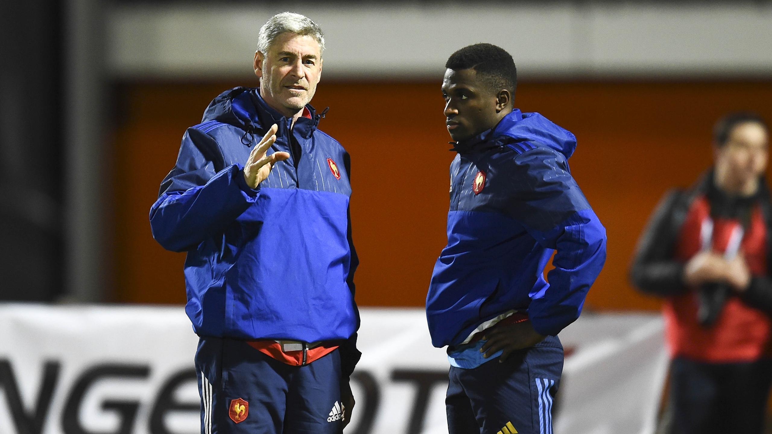 Didier Faugeron et Gabriel N'Gandebe