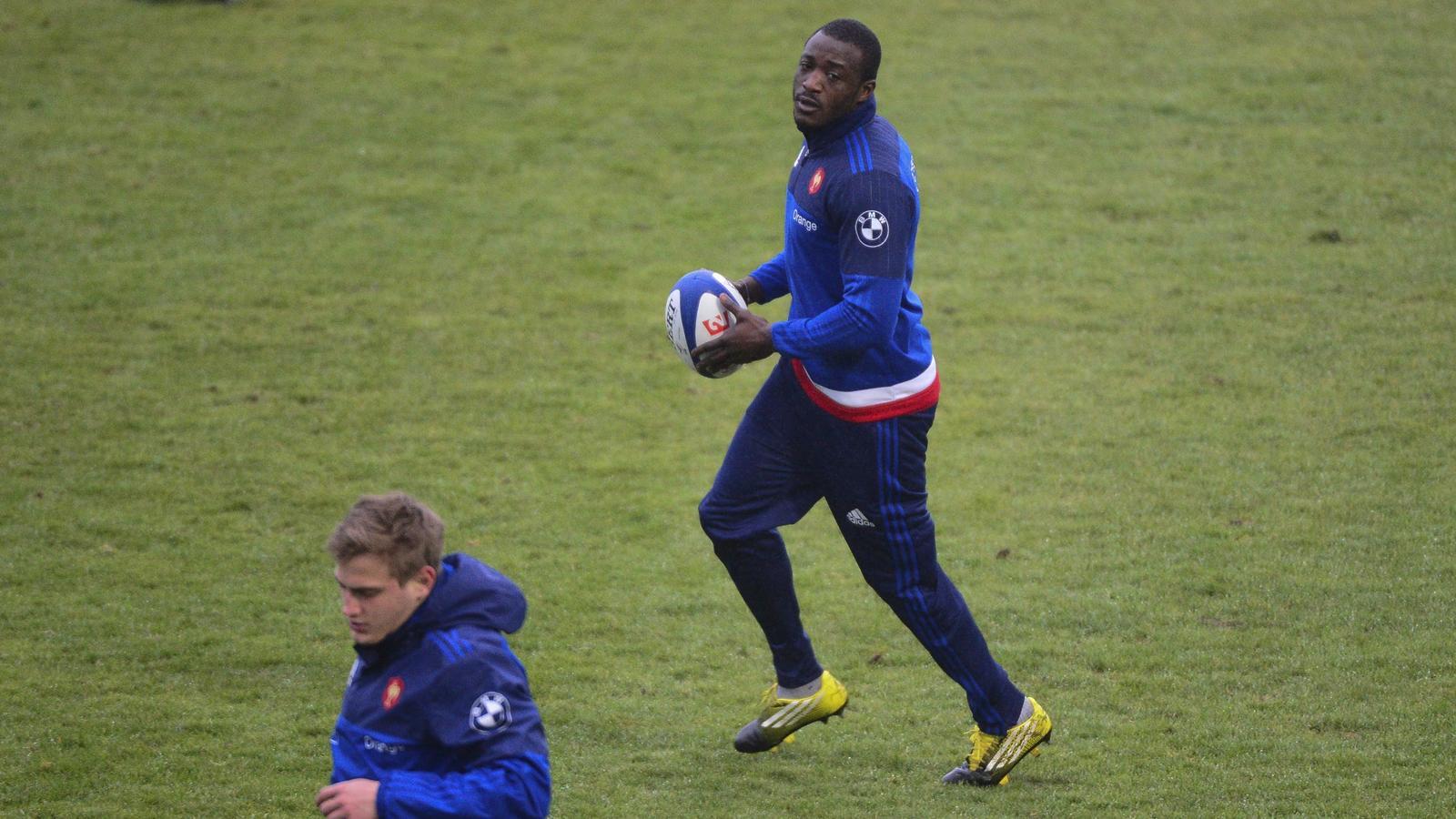 Djibril Camara (XV de France) - 23 février 2016