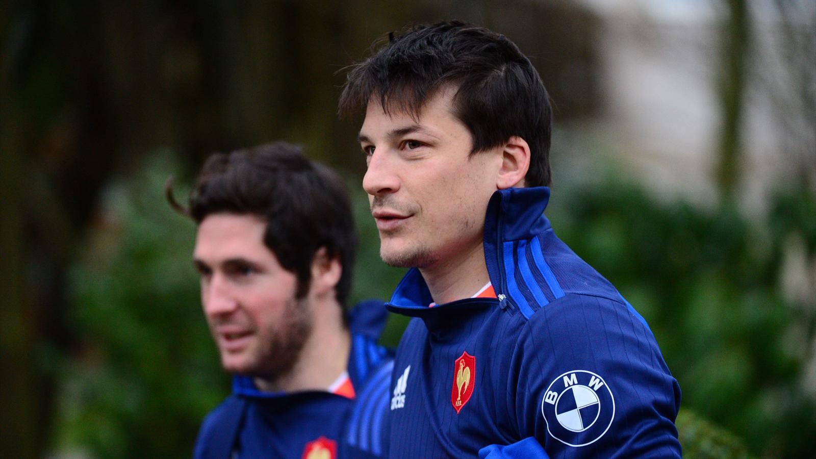 Maxime Machenaud et François Trinh-Duc (XV de France) - 23 février 2016