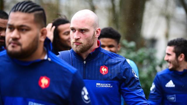 XV de France: Burban utilisé en 8 ?