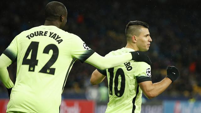 Agüero, Silva et Touré ont marqué, les stars de City retrouvent la forme au meilleur moment