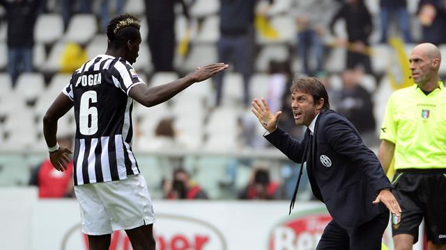 Conte n'est pas encore le manager de Chelsea, mais il a mis Pogba sur sa shopping list
