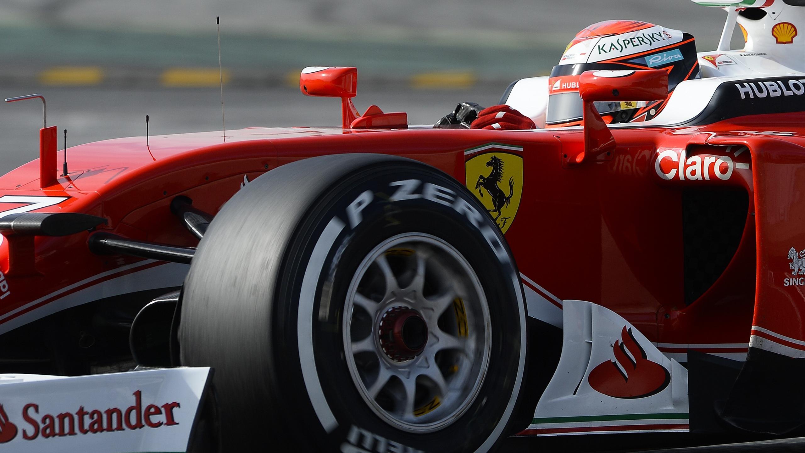Kimi Räikkönen (Ferrari) - Tests Montmelo 2016